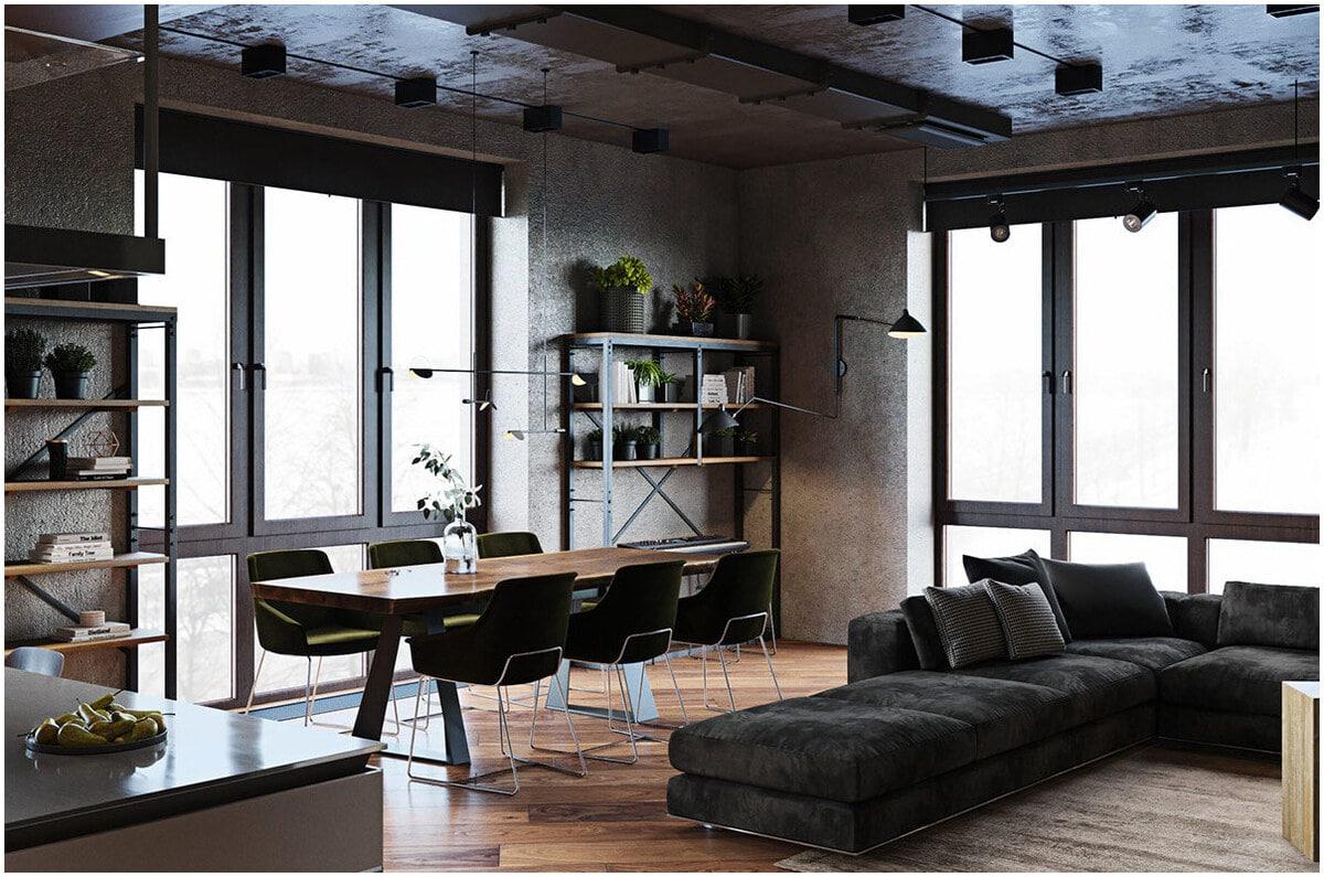 design industriel appartement